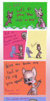 Fnaf silly comic - Foxina Tale by Maria-Ben