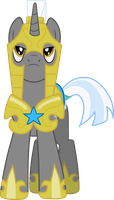 Royal Unicorn Guard Vector by Neighthirst