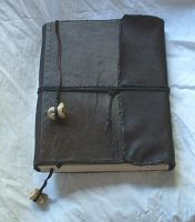 Leather book - view 1 by bleaknimue