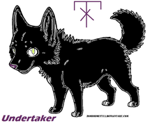 The Undertaker Wolf Puppy by MoontheMew