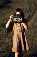 1960s girl Scout Photographer by photoartbyshannon
