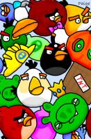 Angry Birds by PennySamson