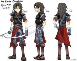 The Kirita Chronicles Character Design: Gorobei by RedRook96