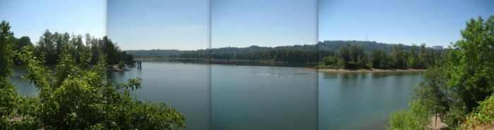 Willamette Panorama by co1dpaws