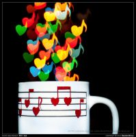 A cup of musical hearts by ValerioBulla