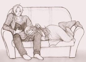 FMA Sweet Moment of Relaxation by KGX347
