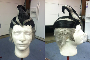 Gundam Tanaka Wig (Super Dangan Ronpa 2) by Phantom-Shadow