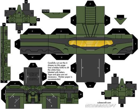 Halo 3 scout armor by mikeyplater