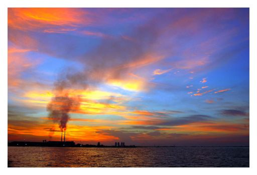 Quiet Afternoon at Ancol Bay by sigpras