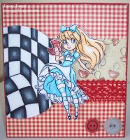 Alice card by Booyagirl