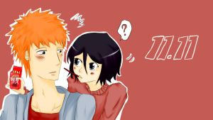Pocky Day 11.11 [Ichiruki] by Littlegrazygirl