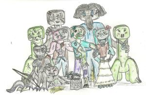 Minecraft Family by Danii-Two