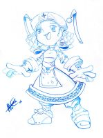azumy blue pencil by alexss