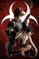 Resident Evil: Mercenaries by pypeworks
