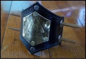 Valknut Barrette by SteamViking