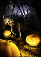 Smile, because its halloween by Flemaly