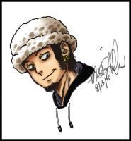 SAI practice Trafalgar Law by MoonNeko