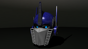 Optimus Prime head by ToMaz777