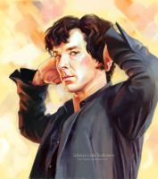 Sherlock magnificent by ladunya
