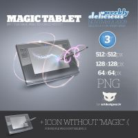 Magic tablet - WD2 by lazymau