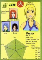 Keiko Stat Card by Revy11