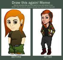 draw this again 2010 - 2013 by meirha