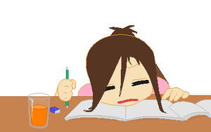 Studying Kills Me by snowdrop123