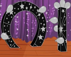 Total Drama Style Prom Arch Background by Aeon-Borealis