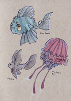 Aeneor sea life by AngieMyst