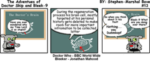 The Adventures of Doctor Skip Strip 13 by GreedLin