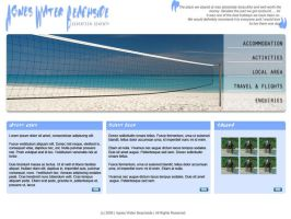 Beach Resort Website by datamouse