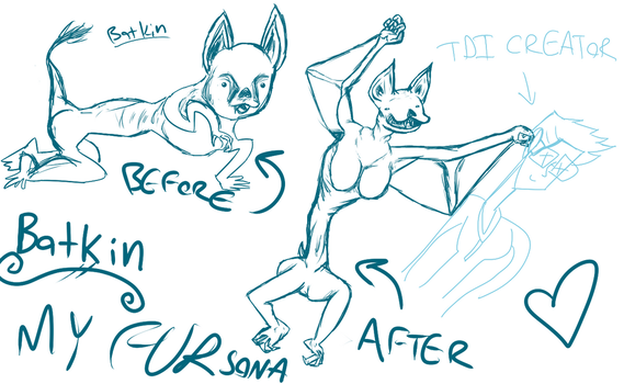 Batkin: The BEST Fursona by rexhamster1
