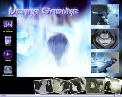 Uchiha - Uchiha Sasuke Desktop by Sasuke-Fan-Club