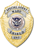 Agent Grant Ward SHIELD Badge by SavantiRomero
