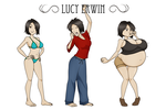 Lucy Erwin by RiddleAellinea