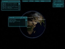 UFO: Alien Invasion Simple GUI by Gookins