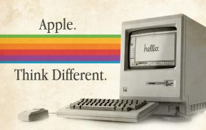 Apple Think Different by DhavalKatrodiya