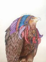 Chief Eagle by SteffieSilva