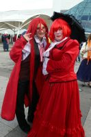 MCM - Grelle + Madame Red 2 by KaniKaniza