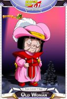 Dragon Ball GT - Old Woman by DBCProject