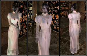Victorian Dress for Morrowind by plangkye
