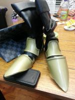 Vincent Valentine's Shoes for Anime Expo 2014 by drake12483