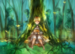 [APH England] I went into the woods by Fhyen
