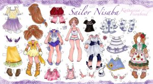 SMV Sailor Nisaba Paper Doll by nickyflamingo