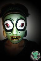 Salad Fingers Facepaint by Face-Invaders