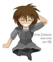 Chibi Caramon by emeraldfire2065