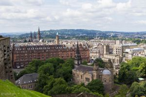 View from Edinburgh Castle by LordMajestros
