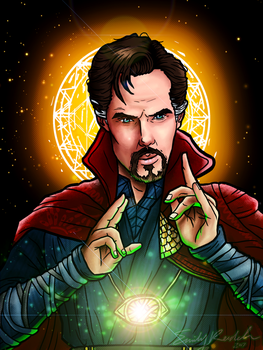 Doctor Strange by Chrisily