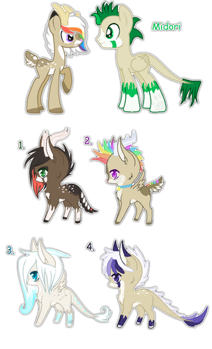 Midori and CoffeeBean foals {closed} by Ivon-Cheetah