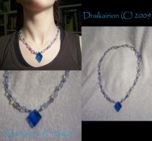 MoonScape Moonstone Necklace by Draikairion